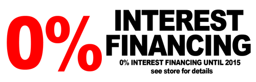 Sleep Etc offers 0% Interest Financing!