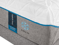 The TEMPUR-Cloud Luxe Breeze Mattress by Tempur-Pedic