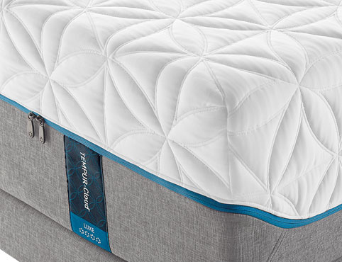 the tempurcloud luxe mattress by tempurpedic