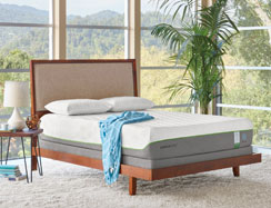 The TEMPUR-Flex Supreme Breeze Mattress by Tempur-Pedic