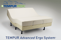 The Advanced Ergo Adjustable Base by Tempur-Pedic