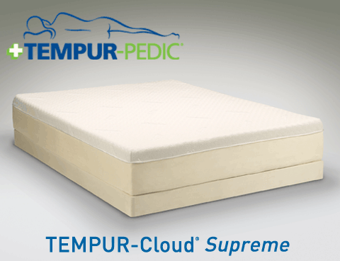 TEMPUR Cloud Supreme Mattress by Tempur Pedic