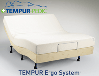 The Ergo Adjustable Base by Tempur-Pedic