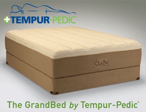 GrandBed from the Tempur HD Collection by Tempur Pedic