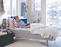 The Koster Mattress by Carpe Diem Beds of Sweden