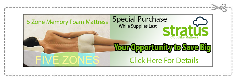 Stratus Mattress Clearance Sale