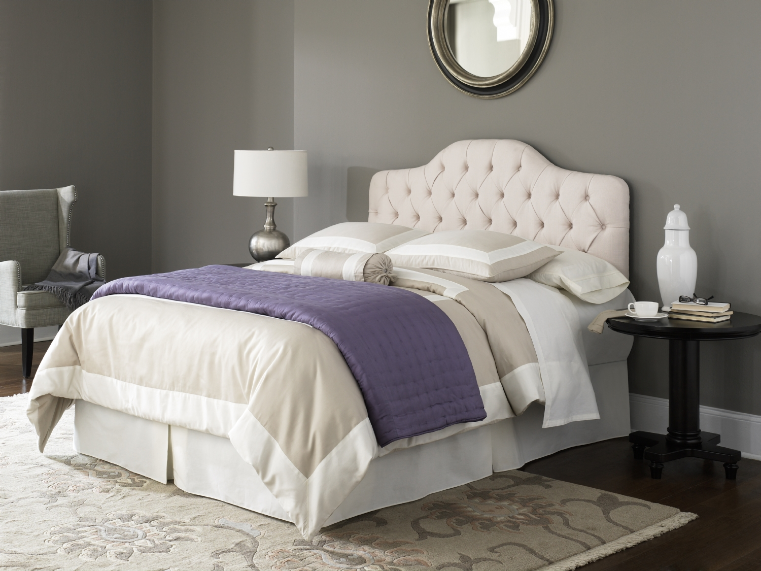 Martinique Headboard for Adjustable Bed Base Designer Series