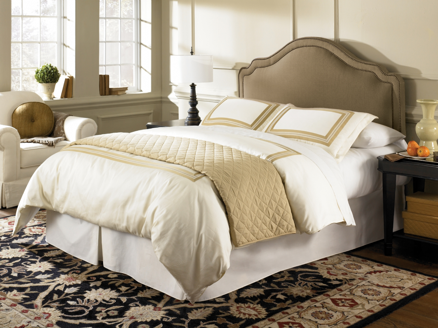 Versailles Headboard for Adjustable Bed Base Designer Series